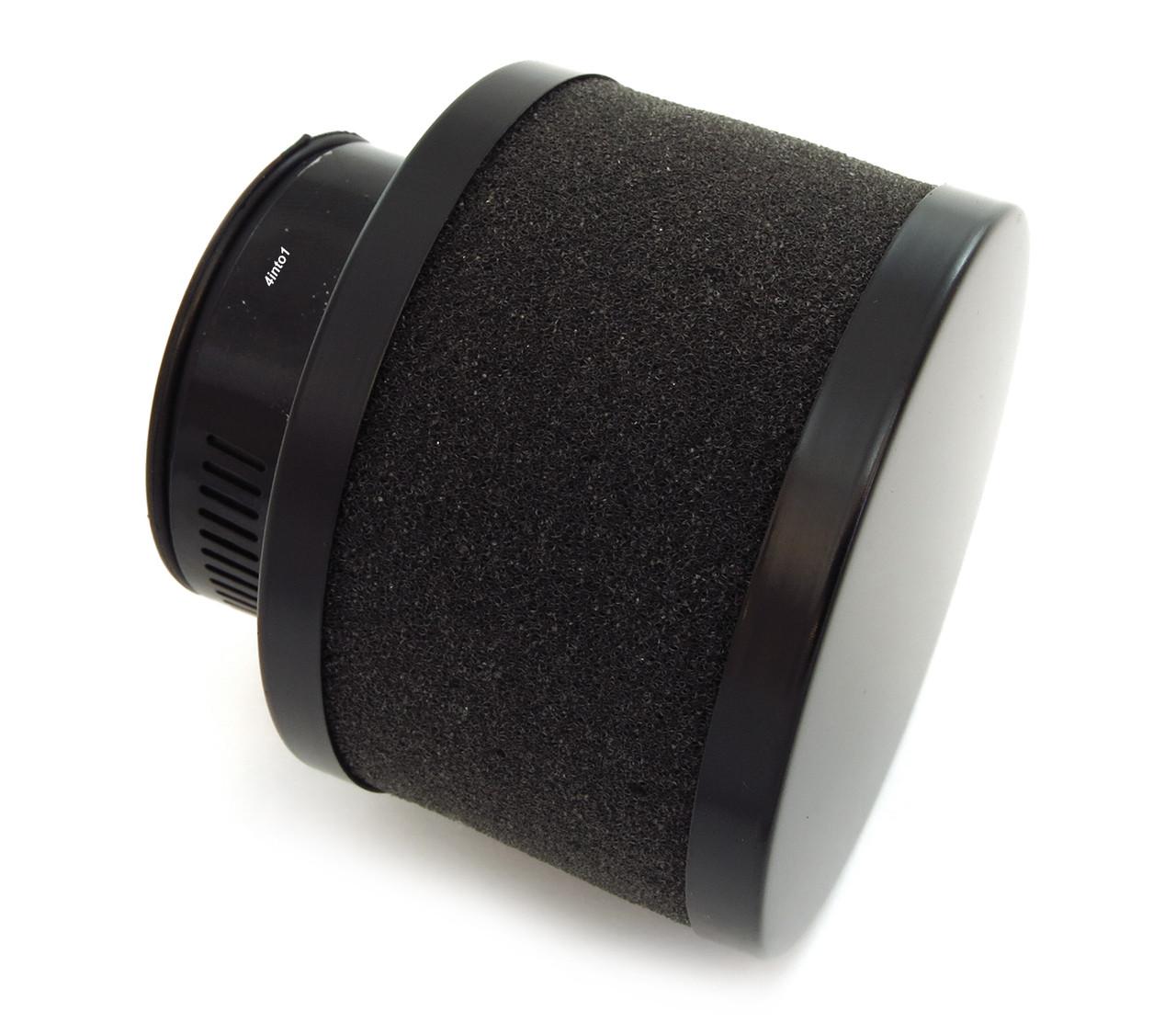 Honda CB500 CB550 CB750 Set of 4 Small Black /& Red 39mm Air Filter Pod Set