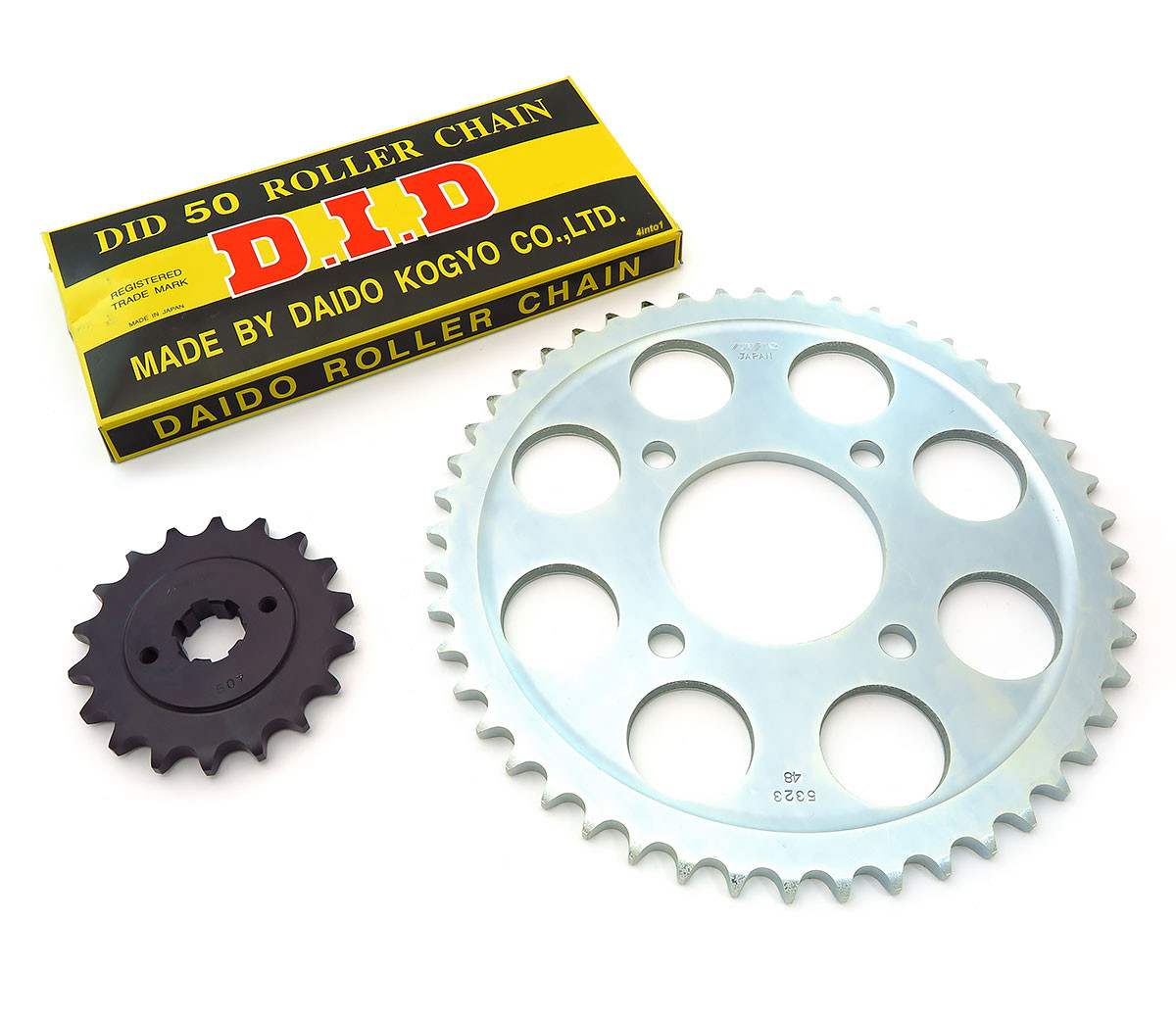 Chain Sprockets Kit Honda Cb750k 1970 1976 Cb750f Image 1