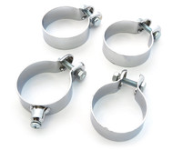 Exhaust Clamp Set - Honda CX500 GL500 GL650