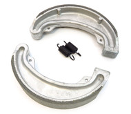 BikeMaster Front or Rear Brake Shoes - Honda CM185/200 CB/CM/CMX250 CR/MR/MT/XL/XR250 XL350/500