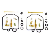 Set of 2 Deluxe Carburetor Rebuild Kits - Honda CX500 - 1980-1982