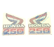Radiator Shroud Decals - Honda CR250R - 1985