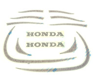 Tank and Fenders Decal Set - Honda XL250 - 1972