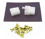 """Locking Connector Kit - 6.3mm - .250"""" Series - 4 Pin"""