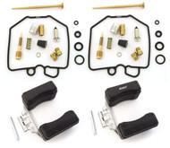 Deluxe Carburetor Rebuild Kit With Floats - Honda CX500 - 1978-1979