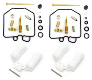 Deluxe Carburetor Rebuild Kit With Floats - Honda CX500 - 1980-1982