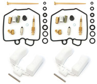 Deluxe Carburetor Rebuild Kit With Floats - Honda CM400 - 1980-1981