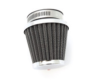 Chrome Pod Filter - 50mm - Honda CB/CL350/360/450 CB500T