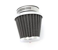 Chrome Pod Filter - 54mm - Honda CB/CM400/450 CX/GL500/650 CB650/750/900/1000/1100 CBX