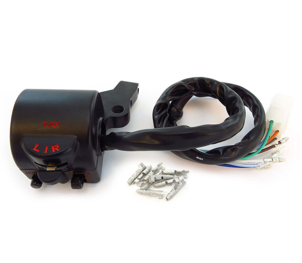 Honda Left Clutch Side Handlebar Switch Assy CB360T CL360 CB400F 35200-377-003
