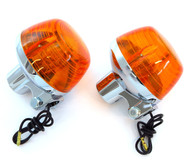 Reproduction Honda Turn Signal - Single Filament - Set of 2 - CB175/200/350/450/500/750