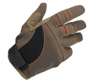 Biltwell Moto Gloves - Brown / Orange