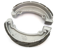 Emgo Grooved Rear Brake Shoes - Honda CM185/200 CB/CM/CMX250 XL175