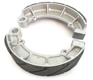 Emgo Grooved Rear Brake Shoes - Honda CB650 CB750