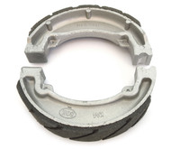 Emgo Grooved Front or Rear Brake Shoes - Honda CB/NX/XL125 CH/CN/XL250