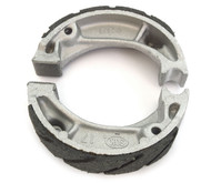 Emgo Grooved Front or Rear Brake Shoes - Honda NU50 CR60R CH/CR/NH/XR80 XR100R