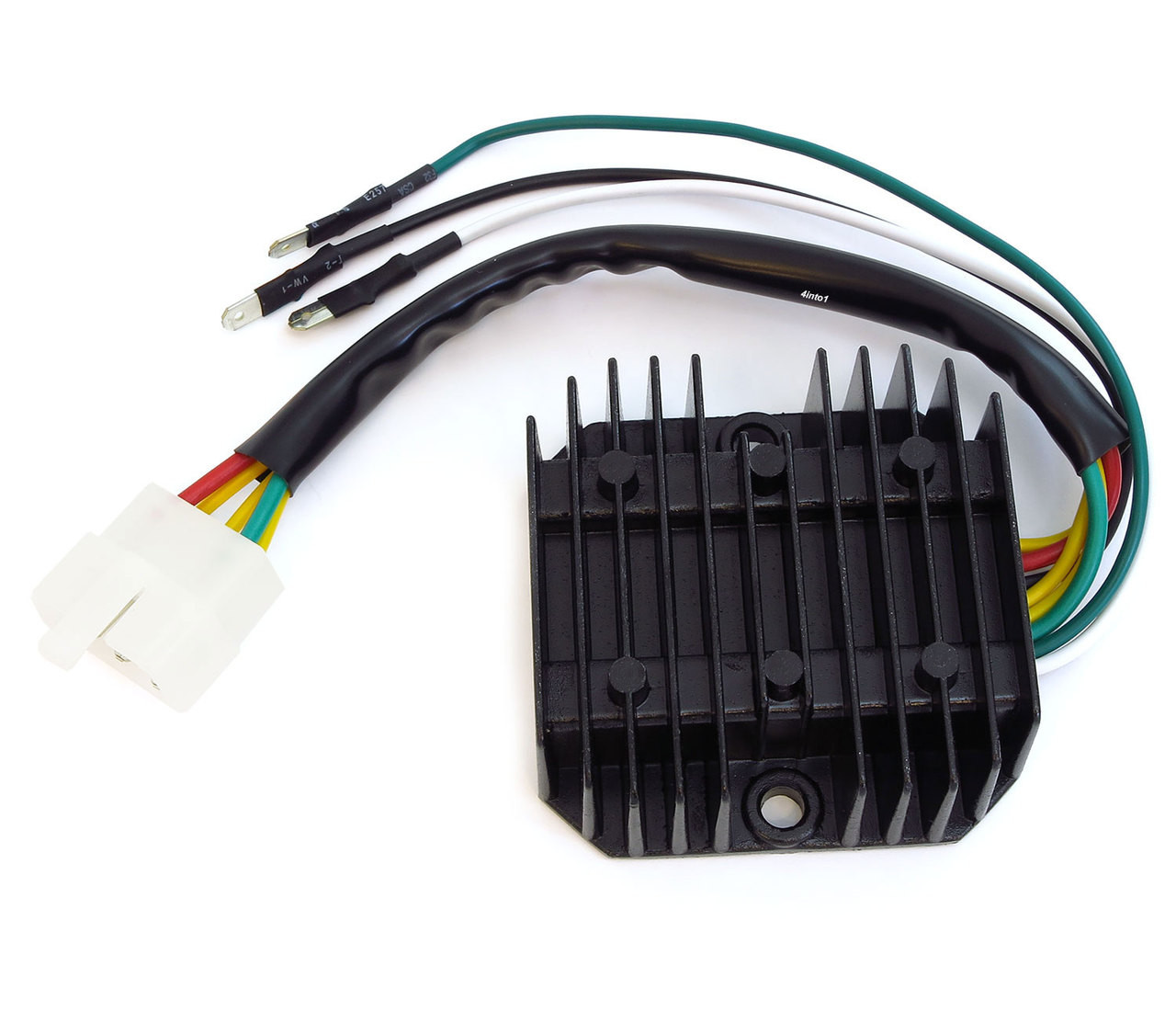 regulator rectifier honda cb350f cb400f cb500 cb550 cb750 rh 4into1 com 4 Wire Regulator Wiring Diagram Kawasaki Rectifier Wiring