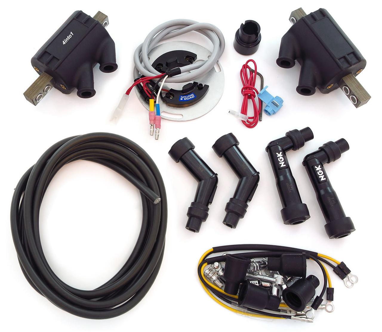 Honda cb 125 electronic ignition