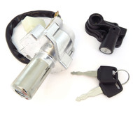 New Improved Ignition Switch / Fork Lock Assembly & Seat Lock Set - Honda CB400F/550/650/750