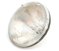 "7"" Sealed Beam Motorcycle Headlight - Clear"