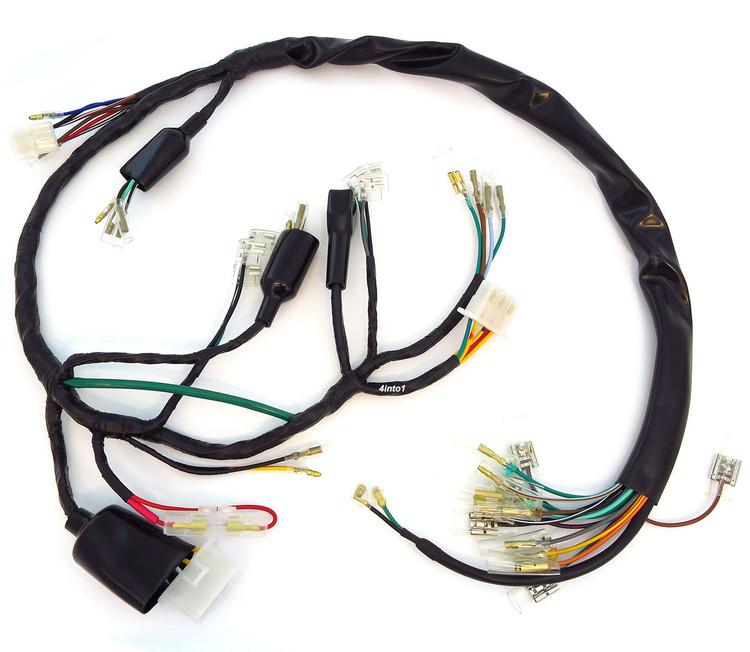 Main Wiring Harness - 32100-333-000 - Honda CB350F4into1.com