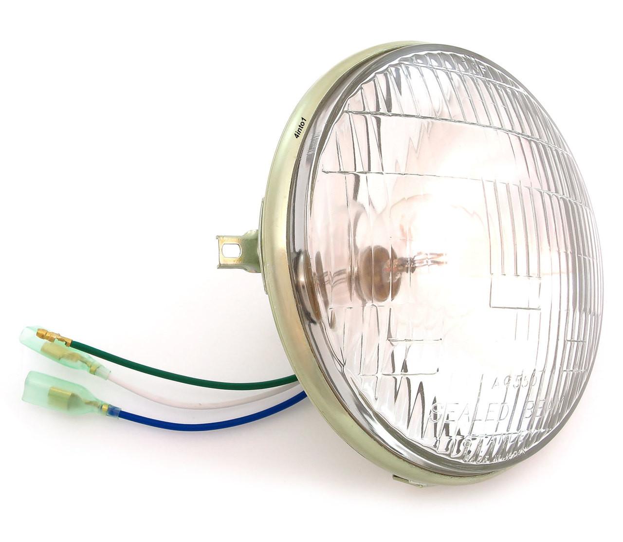 Honda Cb175 Headlight Wiring Diy Enthusiasts Diagrams Bobber Diagram Free Vehicle Genuine 12v Sealed Beam 33120 292 673 Cb Rh 4into1 Com Cb125
