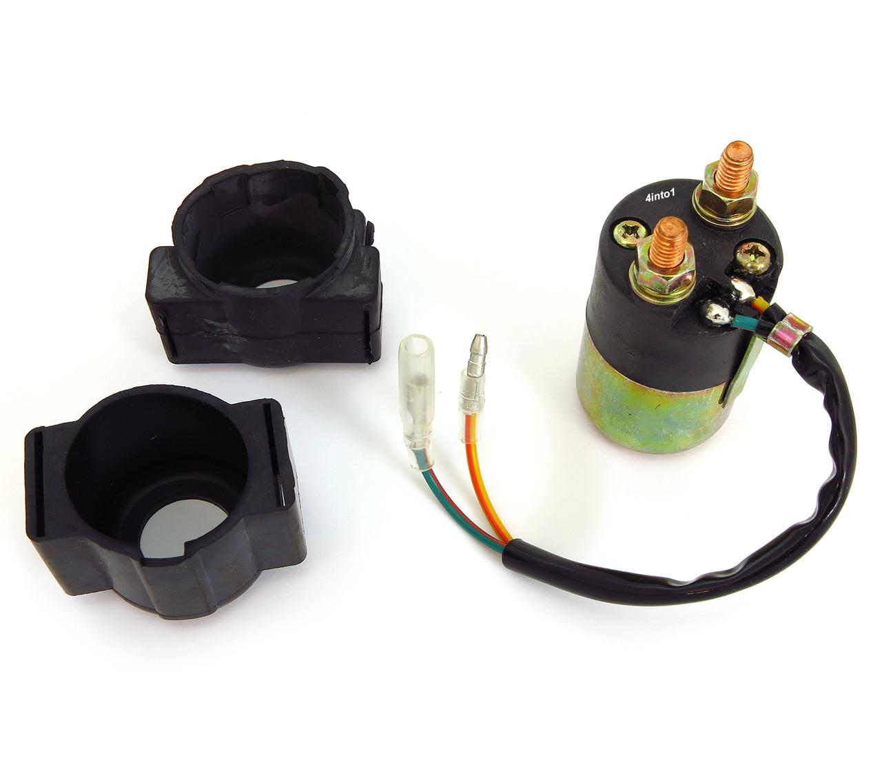 universal starter solenoid honda cb cl175 200 350 360 450 cb400f rh 4into1 com Ford Tractor Solenoid Wiring Diagram 3 Post Solenoid Wiring Diagram