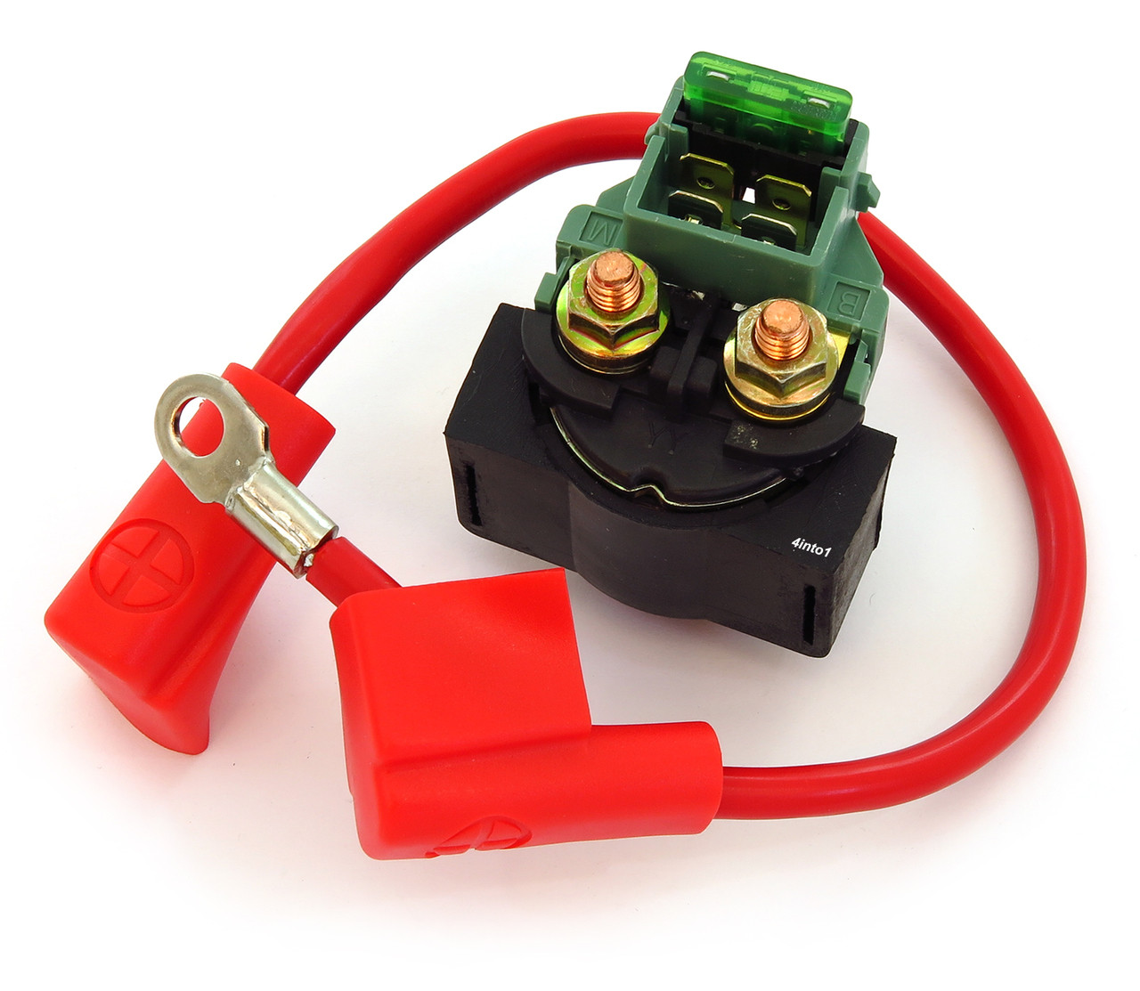 80s Hondas Starter Solenoid With Fuse Wire Xl500r Wiring Diagram Image 1