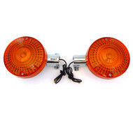 Set of 2 Reproduction Honda Rear Turn Signals - CB400/500/550/650/750/900 CX500 GL1000