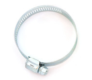 "1.25"" - 2.50"" Pod Filter Hose Clamp - Silver"