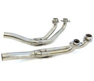 Delkevic 4into2 Stainless Steel Headers - Honda GL1000/1100 Gold Wing