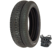 IRC GS-11 Tire Set - Honda CB350/360/400F CJ/CL360