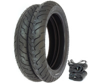 Shinko 712 Tire Set - Honda CB650 CB750A 77-78 CB750K 80-82 CB750L GL1000