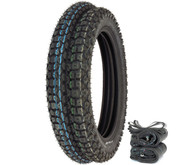 IRC GP-1 Dual Sport Tire Set - Honda CR125R/M XR200R CR/MR/MT/XL250 XL350K