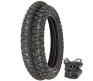 IRC GP-110 Dual Sport Tire Set - Honda CR125R/M XR200R CR/MR/MT/XL250 XL350K