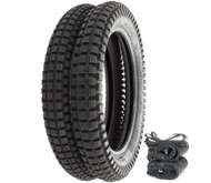 Shinko SR241 Trail Tire Set - Honda NX/TL125 XL125S XR/XL185 TLR200 XL200R/250