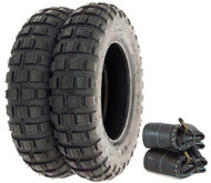 Shinko SR421 Mini Bike Trail Tire Set - Honda Z50A/R