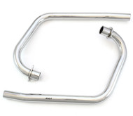 MAC 2into2 Chrome Headers - Honda CB360