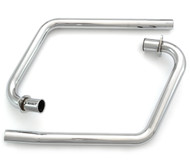 MAC 2into2 Chrome Headers - Honda CB350 Twin
