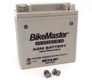 BikeMaster AGM Platinum II Battery - MS12-9-4B1