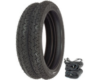 Pirelli City Demon Tire Set - Honda PA50 C70 CA100/110