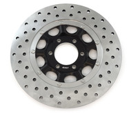 Stainless Steel Drilled Brake Rotor - Honda CB450K 72-74 CB500/550