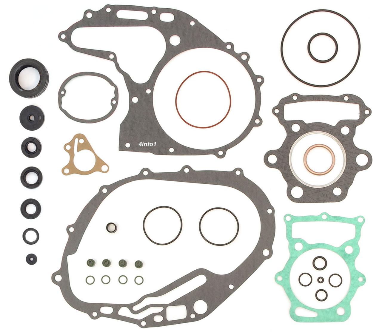 Gasket Set Engine Rebuild Kit Compatible with Honda CB360 CL360-1974-1976 Seals