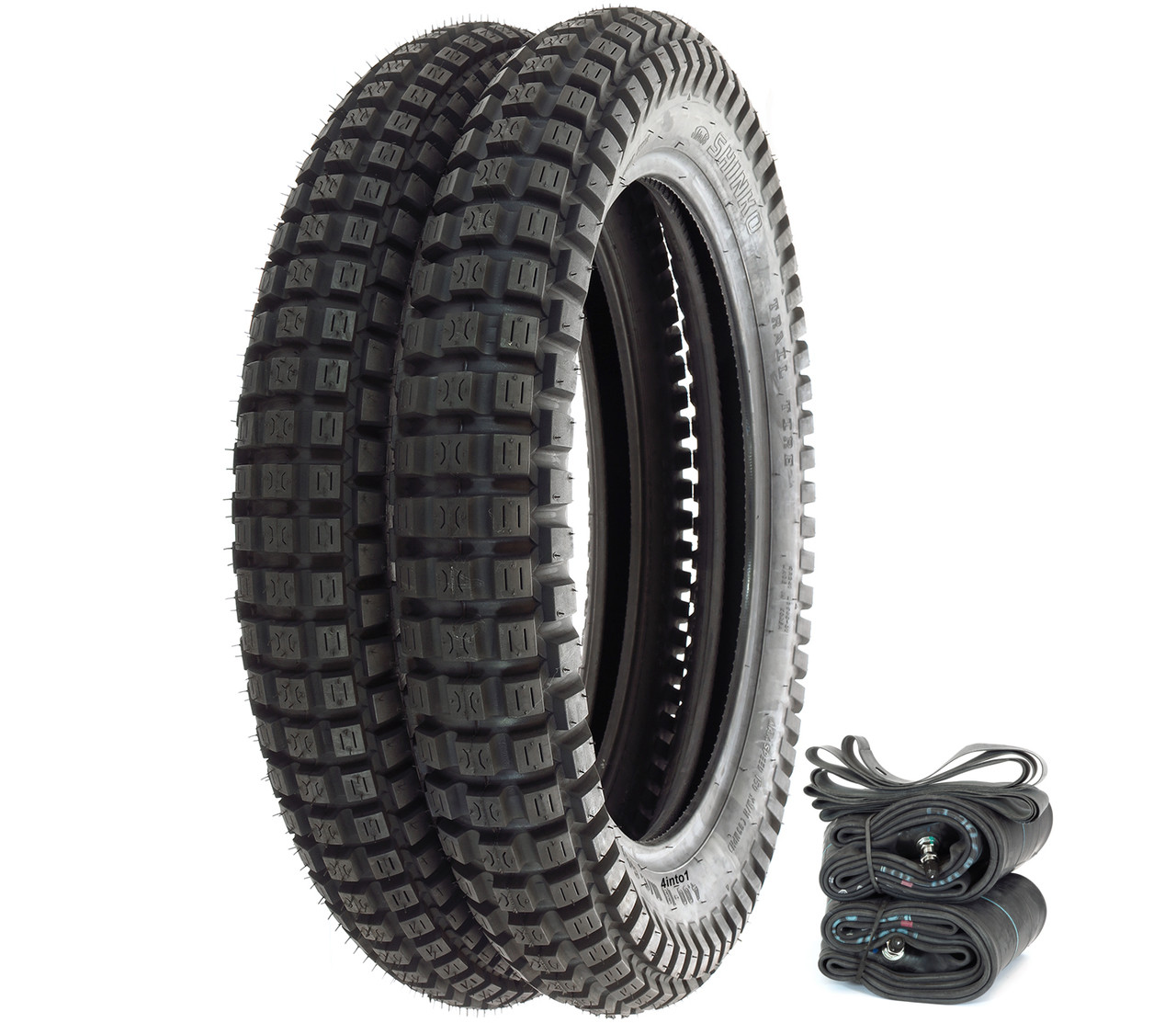 Shinko SR241 Trail Tire Set - Honda CR/MT/SL/XL125 MR/XL175