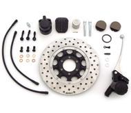 Ultimate Performance Front Brake Kit - Black Lines - Honda CB450K/500/550
