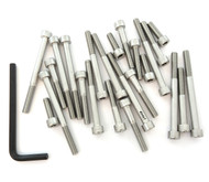 Stainless Steel Allen Bolt Set - Honda CT70 - 1970-1994