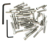 Stainless Steel Allen Bolt Set - Honda CL125S - 1973-1974