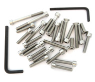 Stainless Steel Allen Bolt Set - Honda CB/CL450K - 1968-1974