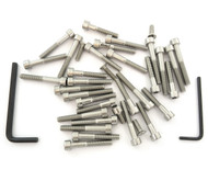 Stainless Steel Allen Bolt Set - Honda CB/CL100 - 1970-1973
