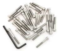 Stainless Steel Allen Bolt Set - Honda CB125S - 1984-1985